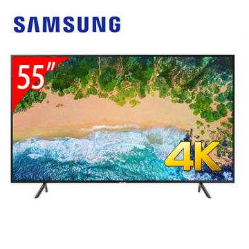 【展示機】SAMSUNG 55型4K智慧連網電視 UA55NU7100WXZW