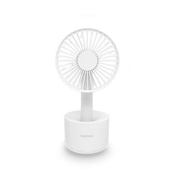 Esense COOL桌立/手持兩用USB風扇-白