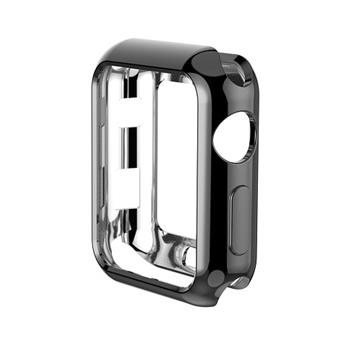 【38mm】NYMPH BLUE Apple Watch 輕薄彈性保護套 - 黑色