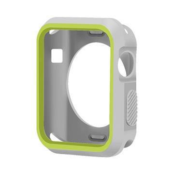 【38mm】NYMPH BLUE Apple Watch輕薄彈性保護套 - 灰綠色