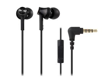 鐵三角 CK350iS耳塞式耳機-黑