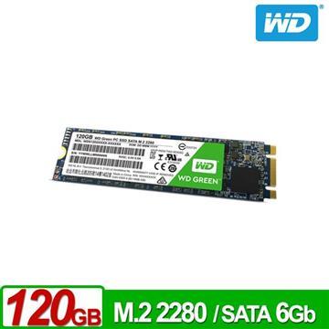 【120G】WD M.2 2280 SATA固態硬碟(綠標)