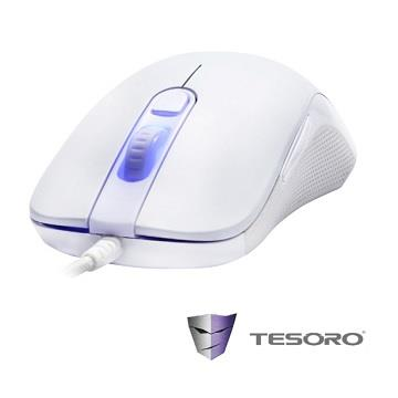 TESORO 殺戮電競光學滑鼠-RGB幻彩版 H3LV2-W