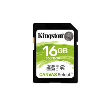 金士頓SDHC UHS-I C10 16G記憶卡