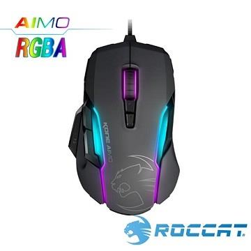 ROCCAT Kone-AIMO魔幻系列RGBA電競滑鼠-灰