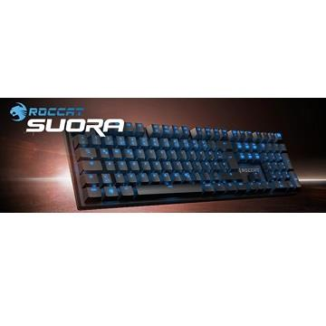 ROCCAT SUORA電競鍵盤(青軸中文) Suora(TW)BL
