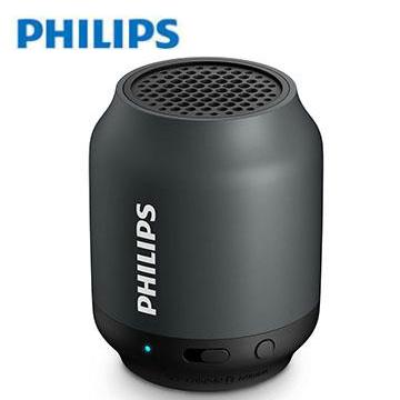 [整新品] PHILIPS 藍牙揚聲器-黑色 BT25B