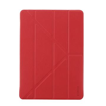 "【iPad 9.7""】OVERDIGI 多角度保護殼 - 紅色"