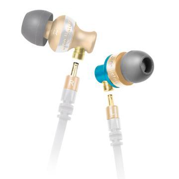 T.C.STAR TCE5110雙機體入耳式耳麥-白