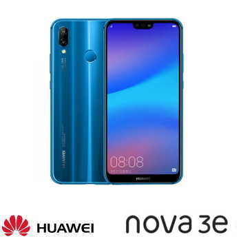 【4G / 64G】HUAWEI 華為 nova 3e 5.84吋全面屏雙鏡頭智慧型手機 - 克萊因藍