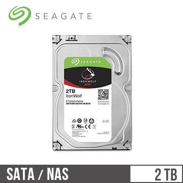 【2TB】Seagate 那嘶狼 3.5吋 NAS硬碟