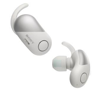 SONY WF-SP700N真無線藍牙降噪耳機-白
