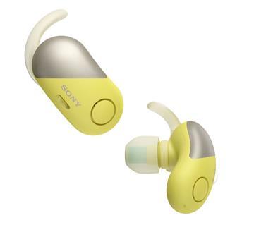 SONY WF-SP700N真無線藍牙降噪耳機-黃