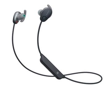 SONY WI-SP600N無線藍牙降噪耳機-黑