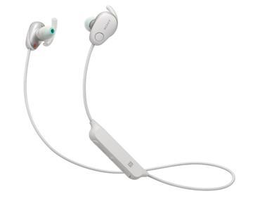 SONY WI-SP600N無線藍牙降噪耳機-白