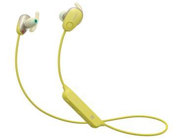 SONY WI-SP600N無線藍牙降噪耳機-黃