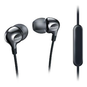 PHILIPS SHE3705入耳式耳機-黑