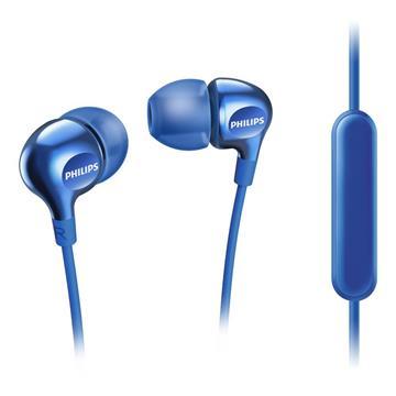 PHILIPS SHE3705入耳式耳機-藍