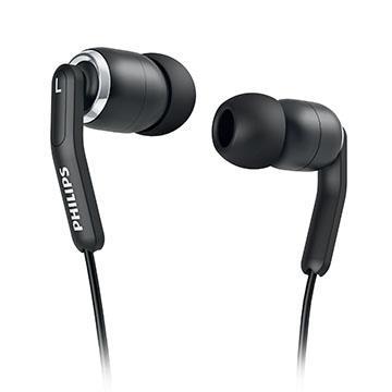 PHILIPS SHE9375入耳式耳機-黑