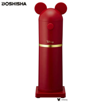 Doshisha Mickey造型手持刨冰機-紅