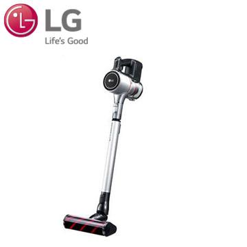 【乾濕兩用組】LG A9+ 快清式手持無線吸塵器(銀色雙電池) A9PBED2X