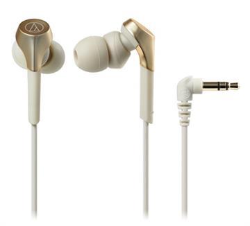 鐵三角 CKS550X耳塞式耳機-香檳金