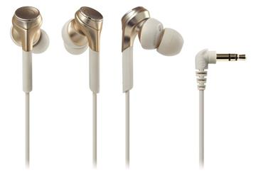 Audio-Technica鐵三角 耳塞式耳機 香檳金 ATH-CKS770X CG
