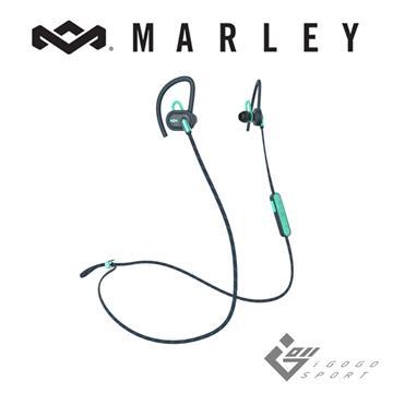 Marley Uprise藍牙運動耳機-湖水藍