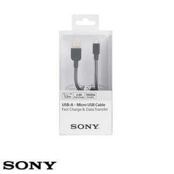 SONY USB 1.5M 原廠充電傳輸線 - 灰色