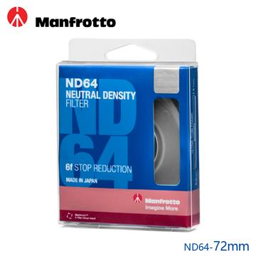 Manfrotto 減光鏡 72mm ND64