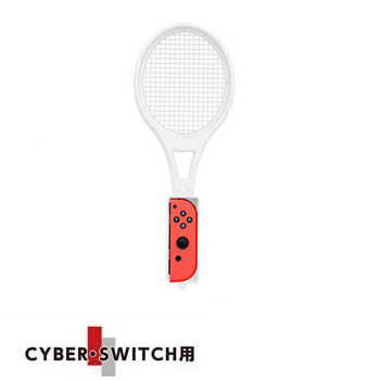 CYBER Nintendo Switch 網球拍 - 白色