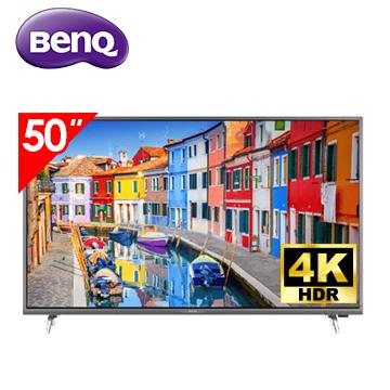(福利品)明基BenQ 50型 4K 智慧藍光2.0 智慧連網顯示器 含視訊盒