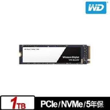 WD 2.5吋 1TB NVMe固態硬碟(黑標)