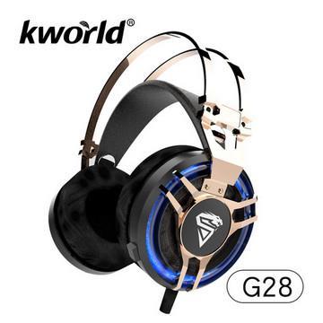 廣寰 Kworld G28極致冷光電競耳麥 KW-G28