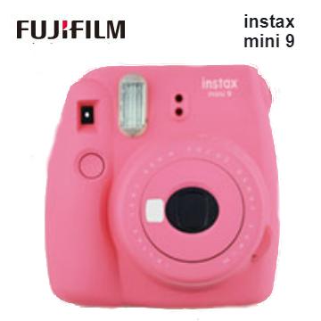 富士 Mini9馬上看相機-粉紅