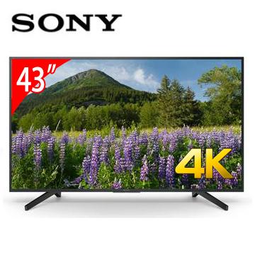 SONY 43型4K智慧連網電視