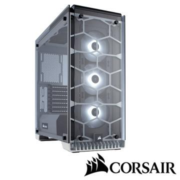 CORSAIR 570X RGB電腦機殼-白 CC570XRGB-W