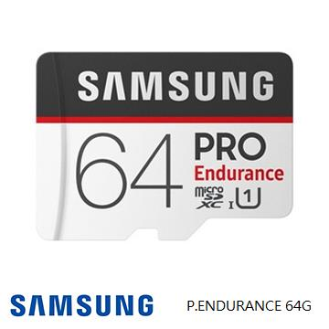 「公司貨」【U1 / 64G】SAMSUNG PRO Endurance MicroSD記憶卡