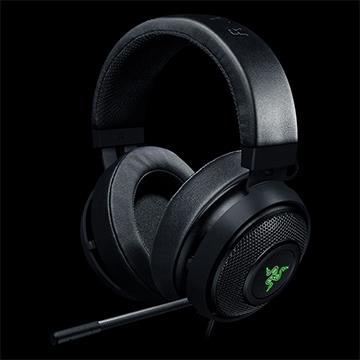【福利品】Razer Kraken 7.1 V2 Oval耳機-黑