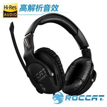 ROCCAT KHAN PRO悍音系列電競耳機-黑