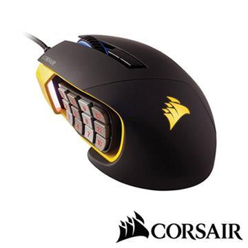 CORSAIR Gaming Scimitar RGB電競光學滑鼠 CGScimitar RGB