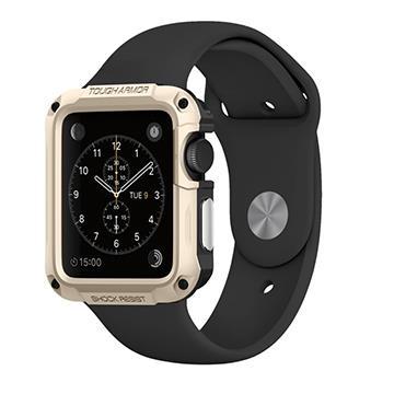 【42mm】SGP Apple Watch 軍規認證防震保護殼 - 金色