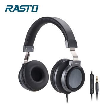 RASTO RS5主動式抗噪耳罩耳機-鐵灰