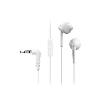 Panasonic RP-TCM55GC入耳式耳機-白