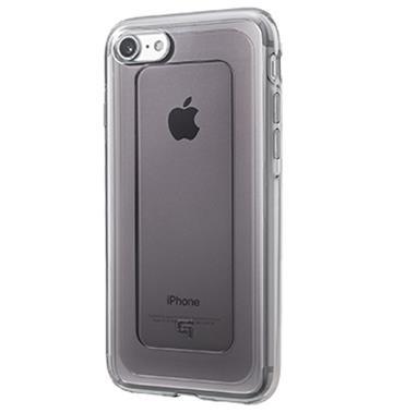 【iPhone 8 Plus / 7 Plus】Gramas 日製軍規防震殼 - 透黑 GHC456PBK