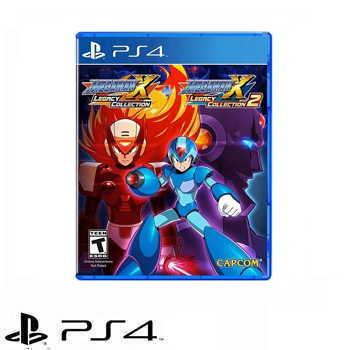PS4 Megaman X 週年紀念合集1+2 亞英版