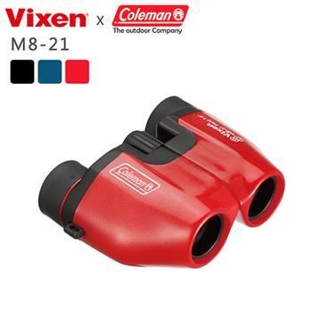 VIXEN 8倍輕便型望遠鏡 M8x21 黑