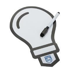 燈泡造型磁鐵留言板
