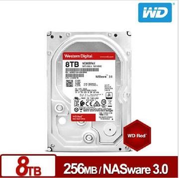 WD威騰 3.5吋 8TB NAS硬碟 紅標 WD80EFAX