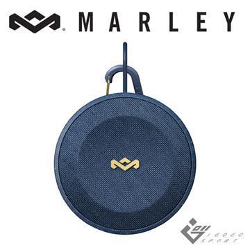 Marley No Bounds 無線防水藍牙喇叭-藍